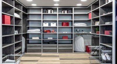 חדר ארונות מדגם Kloss ROOM מעוצב