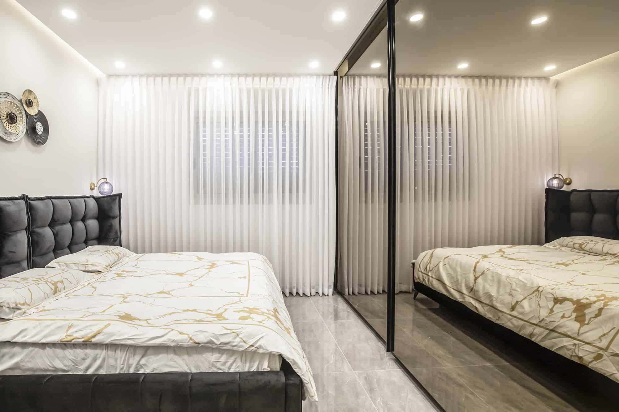 חדר שינה שחור